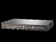HPE JL357A#ABA Aruba 2540 48G PoE+ 4SFP+ 48-Ports Rack-Mountable Managed Switch (3 Years Warranty)