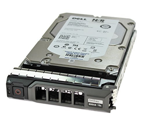 Dell W347K 600GB 15000RPM 3.5inch LFF SAS-6Gbps Hot-Swap Hard Drive for PowerEdge Servers and PowerVault Storage Arrays (Grade A with 90 Days Warranty)