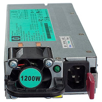 HPE 578322-B21 1200 Watt Common Slot Platinum Plus High Efficiency Hot-Swap Power Supply for Proliant Server