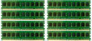 HPE 495605-B21 64GB (8x8GB) Dual Rank x4 667MHz ECC Registered CL5 (CAS-5-5-5) PC2-5300 240Pin DIMM DDR2 SDRAM Memory Kit for ProLiant Gen5 Gen6 and Gen7 Servers