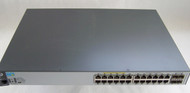 HPE Aruba J9773A 2530-24G 24 PoE+ Gigabit Ethernet Ports 4 Gigabit SFP Ports Managed Switch