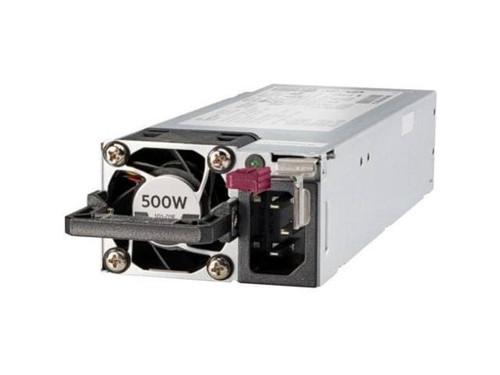HPE 866729-001 500Watt 100V-240V AC Flex Slot Platinum Hot Plug Low HaloGenPower Supply Kit for Proliant Gen9 and Gen10 Servers (3 Years Warranty)