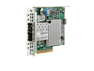 HPE Flexfabric 700751-B21 Dual Port 10Gbps Ethernet PCI Express 2.0 x8 534FLR-SFP+ Network Adapter for Proliant Gen9 Gen10 and Apollo Gen9 Gen10 Servers (3 YR)