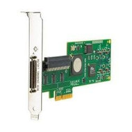 HPE SC11Xe 412911-B21 Single Channel PCI Express x4 Ultra320 SCSI Host Bus Adapter for ProLaint Generation3 to Generation7 Servers (New Bulk with 1 Year Warranty)