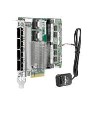 HPE 615418-B21 P822 2GB Dual Ports Internal / Quad-Ports External 8 Channel PCI Express 3.0 x8 SATA-6Gbps / SAS-6Gbps Flash Backed Write Cache Smart Array RAID Storage Controller