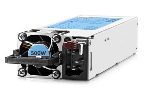HPE 720478-B21 500Watt Flex Slot Platinum Hot Plug Power Supply Kit for Proliant DL300 Generation9 Servers