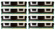 HPE 495604-B21 64GB (8x8GB) Dual Rank x4 667MHz ECC Registered CL5 (CAS-5-5-5) PC2-5300 Fully Buffered 240Pin DIMM DDR2 SDRAM Memory Kit for ProLiant Gen1 and Gen5 Servers