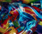 Pretty Cool Vivid Psychadelic Fur Crazy Colors Blend Hydrographics Film Colors Buy Now Big Brain Graphics Yeti White Base
