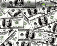 Big Benjamins Light $100 Bills Money American Hydrographics Dip Film 50 CM Pattern Big Brain Graphics Seller USA Trusted Hydrographic Film Sale Yeti White Base Quarter Reference