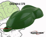 Crocodile Green 379 NanoChem Green Medium Hydrographics Paint Big Brain Graphics Durable Flexible Speed Shape
