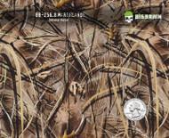 Marsh Marshlands Camo Duck Hunting Camoflauge Hydrographics Film Pattern Big Brain Graphics White Base Quarter
