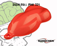 Sushi Roll Salmon Pink 324 Highly Pigmented High Quality Paint Automotive Long Dip Window Big Brain Graphics Hydrographics