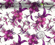 Floral Purple Lady Design Flowers Pink Purple Trimmed Gold Big Brain Graphics Hydrographics Dip Pattern Beautiful Woman Girly Classic Buy Dipping Film Nanochem Yeti White base Quarter Reference