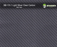 Light Silver Carbon Fiber Hydrographics Film Pattern Big Brain Graphics Buy Black Base