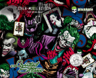 Joker Movie Character Comics Batman DC Comic Hydrographics Film Dip Pattern Buy Supplies Big Brain Graphics USA Seller Trusted Supplier Nanochem Yeti White Base Quarter Reference