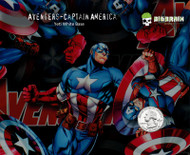 Avengers Captain America Marvel Comics Book Movies Movie Hydrographics Dip Film Pattern Big Graphics Trusted Seller Usa Based Nanochem Yeti White Base Quarter Reference 2