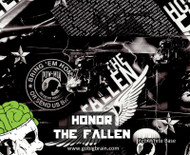 Honor The Fallen POW MIA Military Support Never Forgotten Hydrographics Dip Film Buy Patterns Big Brain Graphics USA Seller NanoChem Yeti White Base