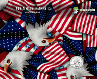 Made in America Flag Support USA Bald Eagle Animal Pride Buy Hydrographics Dip Film Big Brain Graphics USA Seller Nanochem Yeti White Quarter Reference