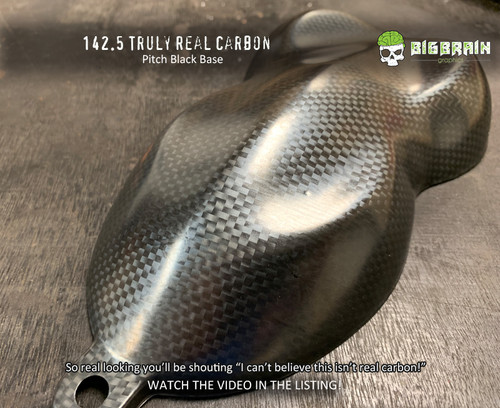 Truly Real Realistic Carbon Fiber Shifting Best Looking Carbon on Market Hydrographics Film Dip Pattern Big Brain Graphics Hydrographics Supplier Nanochem Pitch Black Base