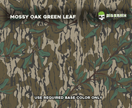 Mossy Oak Retro Green Leaf Throwback Old School Bottomland Mossy Oak Camo Official Reseller Hydrographics Film Dip Pattern Big Brain Graphics Original Bottomland Beige Base
