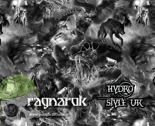 Ragnarok Mythological Thor Greek War Rome Hydrographics Dip Pattern Film Sale USA Seller Big Brain Graphics Buy Yeti White Nanochem