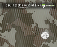 Desert HoneyComb Camo - 234.1 (100 CM)