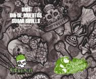FLAWED Dia De Muertes Sugar Skull (100 CM)