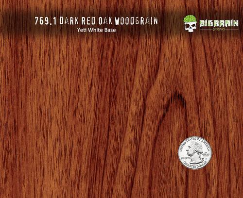 Dark Red Oak Straight Grain WoodGrain Hydrographics Film Pattern Dip Walnut Nanochem Desert Digital Paint Base Quarter Reference