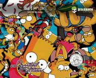 Simpsons Cartoon Characters Simson Simpson Hydrographics Dip Pattern Movie Big Brain Graphics Quarter Yeti White Paint Base Trusted Seller