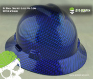 Candy Concentrate Deep Blue Cowboy Big Brain Graphics Hard Hat