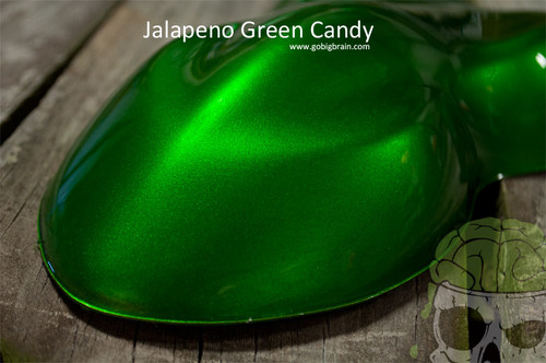 Jalapeno Candy Big Brain Graphics Clear Additive Automotive Hydrographics Speed Shape
