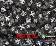 Fleur De Lis Hydrographics Pattern Film White Base Big Brain Graphics Buy