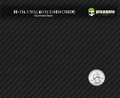Twill Weave Carbon Fiber Hydrographics Pattern Film Trusted Seller Big Brain Graphics Buy Gunmetal Base