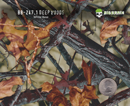 Deep Woods Camo 247 Hydrographics Pattern Film Buy Dipping Big Brain Graphics Seller White Base Quarter Reference