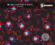 Confederate Ghosts 450 Hydrographics Pattern Film Buy Dipping Big Brain Graphics Seller White Base Quarter Reference