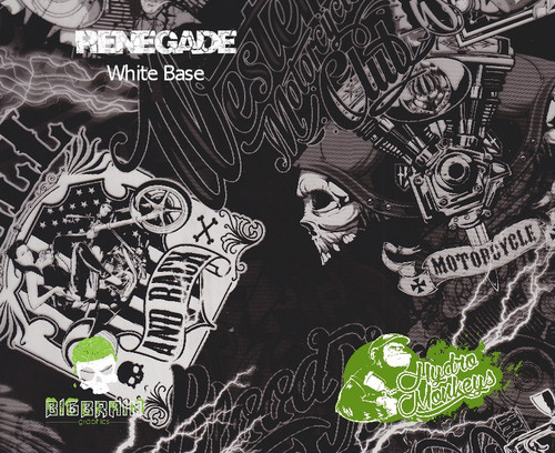 Renegade Hydrographics Pattern Film Buy Dipping Big Brain Graphics Seller White Base