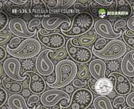 Paisley Girl Girly Woman Subtle Green Detailed Hydrographics Film Buy Big Brain Graphics White Base Quarter