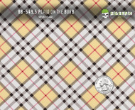 Burberry Plaid Burbs Hydrographics Film Pattern Big Brain Graphics White Base Quarter Reference