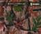 Late Summer Camo Camoflauge Leaf Hydrographics Film Big Brain Graphics Red Base