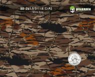 Safari Bottomland Bottom Camo Camouflage Hydrographics Film Pattern Big Brain Graphics White Base Quarter