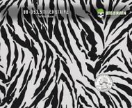 Tiger Stripes Cat Animal Wild Zebra Hydrographics Film Pattern Big Brain Graphics High Quality White Base Quarter Reference
