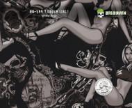 Dream Girls Woman Sexy Lady Skulls Hydrographics Film Seller Buy Big Brain Graphics White Base Quarter Base