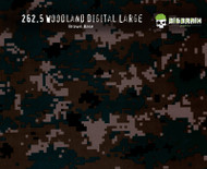 Woodland Digital Camo Brown Green Marine Marines Buy Hydrographics Film Dipping Film Big Brain Graphics Supplier USA Brown Base