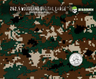 Woodland Digital Camo Brown Green Marine Marines Buy Hydrographics Film Dipping Film Big Brain Graphics Supplier USA Medium Beige Base Quarter Reference