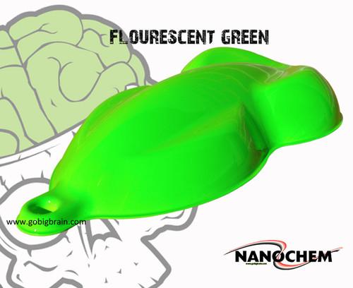 NanoChem Fluorescent Super Bright Green Color Paint Hydrographics Buy Seller Big Brain Graphics