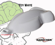 NanoChem Yeti White Big Brain Graphics Hydrographics Paint Color Speed Shape