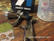 Iwata LPH400-LV Spray Gun (Silver Cap)