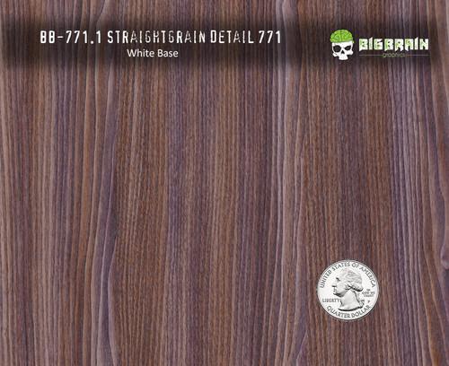 Straightgrain Detail Wood Woodgrain Hydrographics Pattern Film Big Brain Graphics White Base Quarter Reference