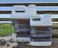 NanoChem 0% Gloss Clear Flat (Choose Pint, Quart, Gallon)
