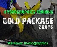 Hydrographics Best Training Big Brain Graphics Insane Detailed Dipping Water Transfer Printing Classes Sessions 2 Days Gold Package